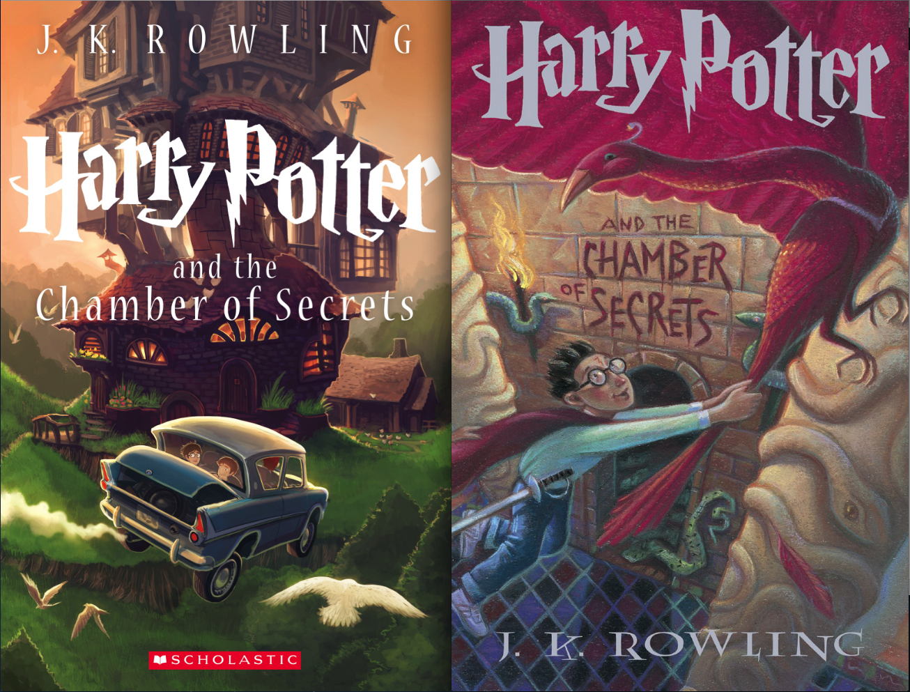 scholastic and harry potter